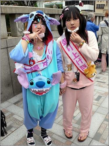 Harajuku - направление в японской молодежной моде.  Стиль