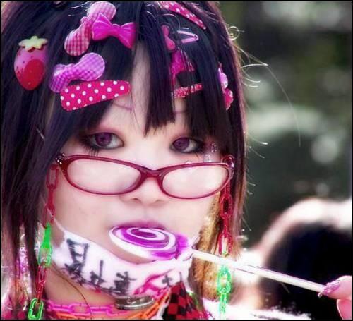 Японская мода харадзюку
