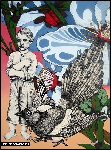 «Птицы певчие» (Songbirds)- серия картин американской художницы S.J. Hart