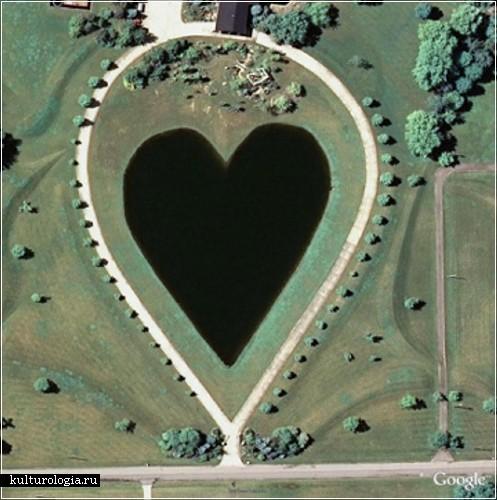 Озеро в форме сердца, Огайо