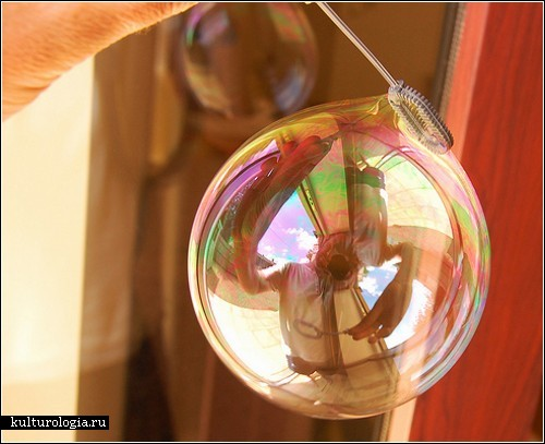 Фотографии мыльных пузырей Ричарда Хикса (Richard Heeks)