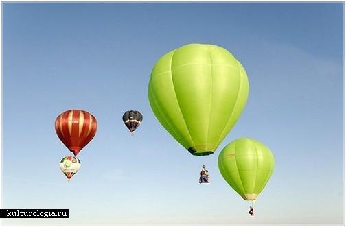 11-й Международный фестиваль воздушных шаров в Шамбли, Франция