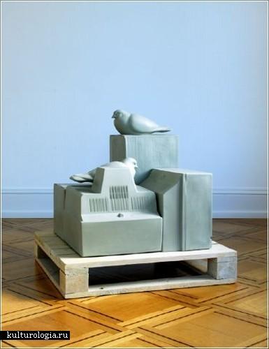 Скульптор Кенни Хантер  (Kenny Hunter)