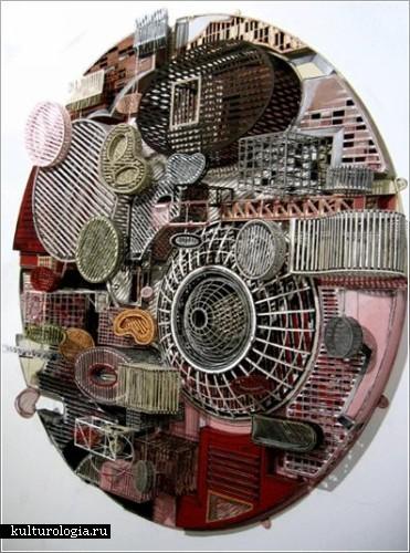 Скульптуры из бумаги от  Jane South