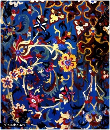Персидское наследие в живописи иранского художника Камруза Арама (Kamrooz Aram)