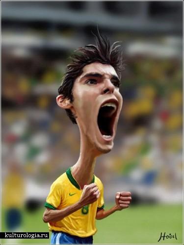 Фотошопные карикатуры бразильца Tiago Hoisel