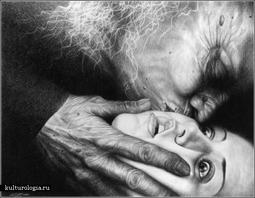 Зловещие картины художницы Лори Липтон (Laurie Lipton)