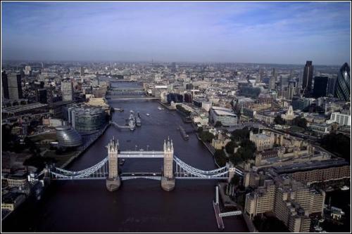 Аэрофотографии лондона от британца