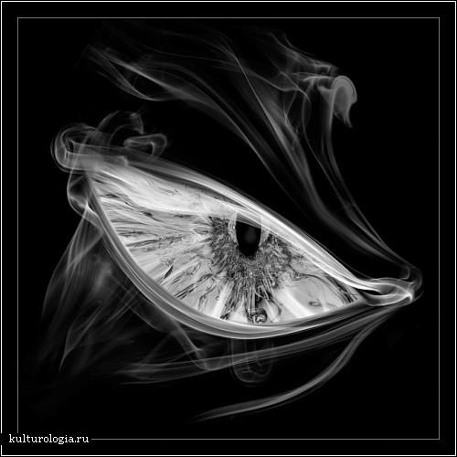 Картины, написанные дымом от турецкого фотографа Мехмета Озгура (Mehmet Ozgur)