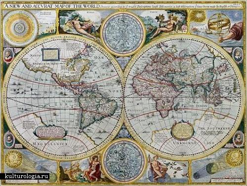Старинные карты из коллекции Джонатана Поттера (Jonathan Potter)