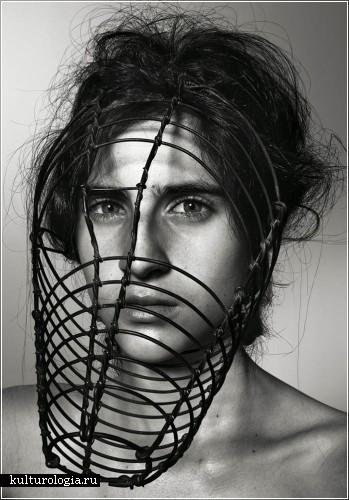 Женщины в масках. Фотопроект Ричарда Барбриджа (Richard Burbridge)