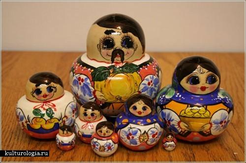 Уникальные коллекции сувенирных матрешек