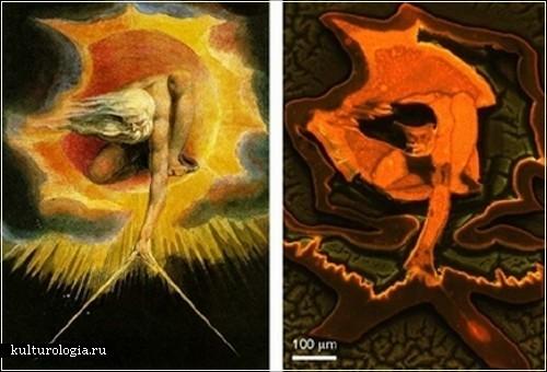Микроскопическая живопись Ee Jin Tao