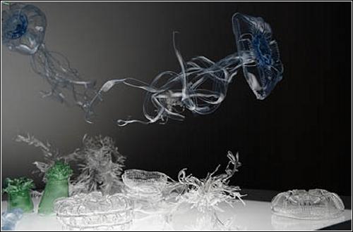 Пластиковые скульптуры от Мивы Коизуми