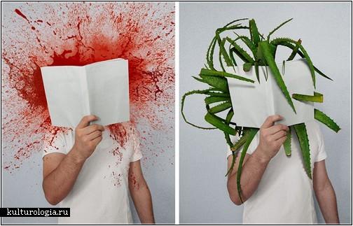 Фотопроект «Сила книг» от  Младена Пенева (Mladen Penev)