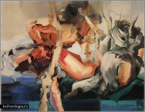 Хаос и абстракция. Картины Кристин Моран (Kristine Moran)