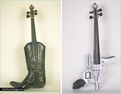 Музыкальные инструменты Ken Butler