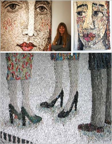 Самые креативные художники и их  оригинальное искусство из хлама, мусора и всех ненужных вещей