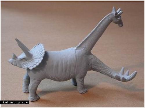 Серия скульптур «Мутанты» от израильского художника Гэда Чарны (Gad Charny)