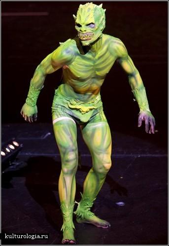 New Zealand Body Art Awards 2009 – боди-арт шоу в Окленде, Новая Зеландия