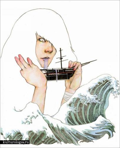 Иллюстрации Фуми Мини Накамура (Fumi Mini Nakamura)