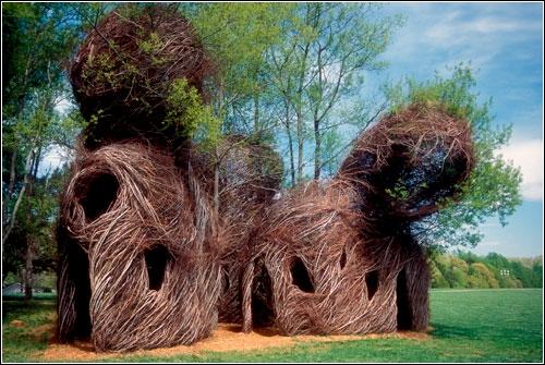 Инсталляции Patrick Dougherty