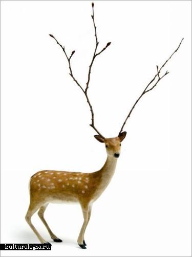 Скульптуры-куколки Kyoko Okubo