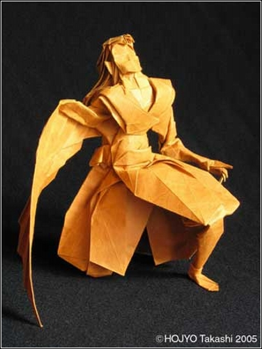 Очаровательная модель оригами Icarius от Hojyo Takashi