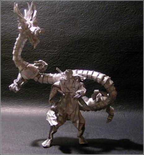 Оригами  Shadow Ninja от Hoang Trung Thanh