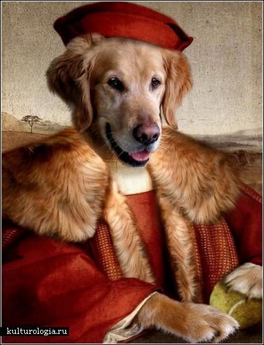 Портреты животных художницы Валери Леонард (Valerie Leonard)