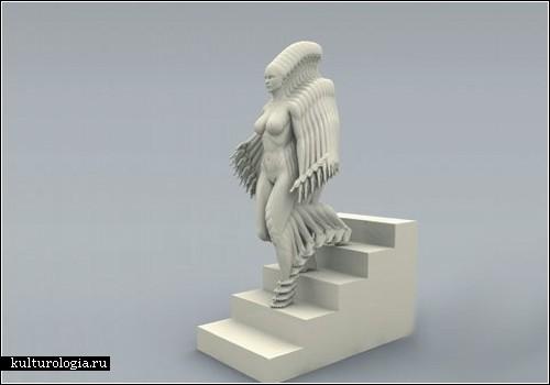 Скульптуры в движении от Петера Йенсена (Peter Jansen)