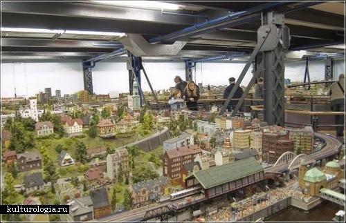Модель железной дороги от Фредерика и Геррита Браунов