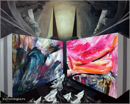 Апокалипсис в живописи Ricky Allman