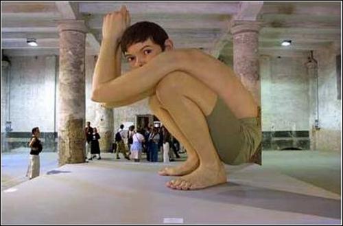 Статуи Рона Мюэка (Ron Mueck