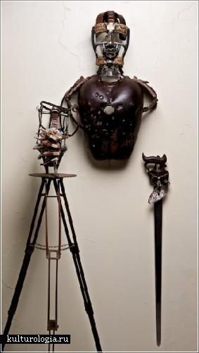 Скульптурные инсталляции Сайласа Финча (Silas Finch)