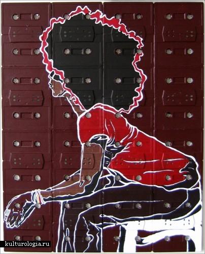 Erykah Badu - Worldwide Underground (Художник Sami Havia)