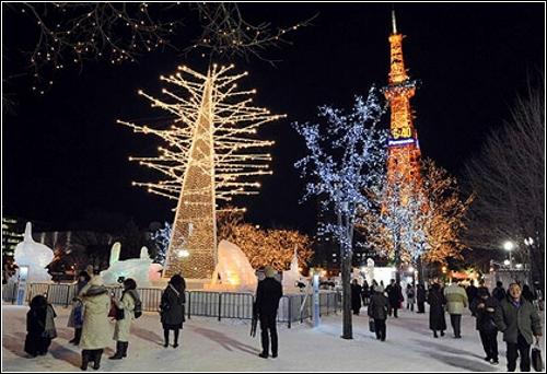 Снежный фестиваль Саппоро