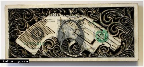 Долларовые гравюры Скота Кэмпбелла (Scott Campbell)