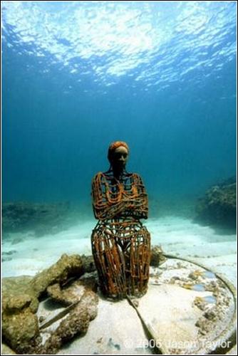 Подводные скульптуры Jason de Caires Taylor