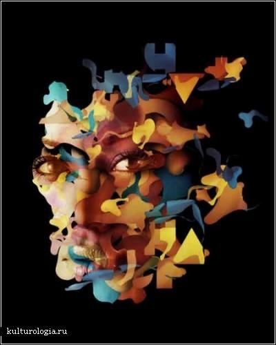 Цветочно-векторные люди Альберто Севесо (Alberto Seveso)