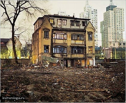 Шанхай глазами канадского фотографа  Грега Жирарда (Greg Girard)