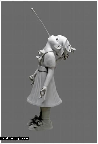 Скульптор Ким Симонссон (Kim Simonsson)