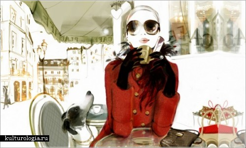 Женственные и стильные иллюстрации Софи Гриотто (Sophie Griotto)
