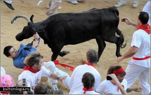 Фестиваль Святого Фермина в испанском городе Памплона