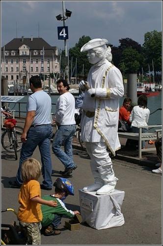 Статуи, которые оживают