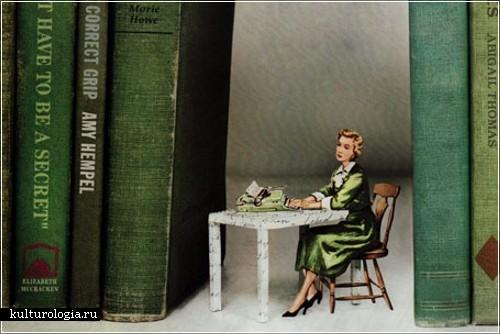 Искусство вырезания из книг от Томаса Аллена (Thomas Allen)