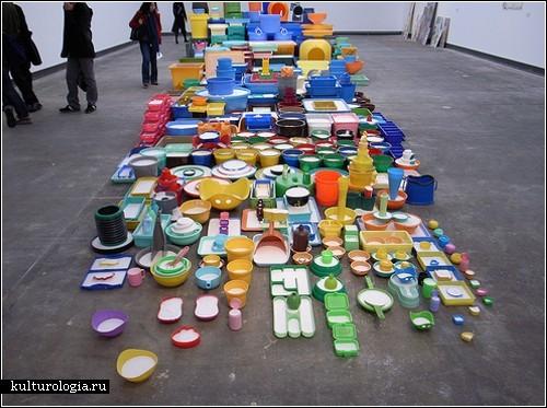 Инсталляции-гибриды японского художника Teppei Kaneuji