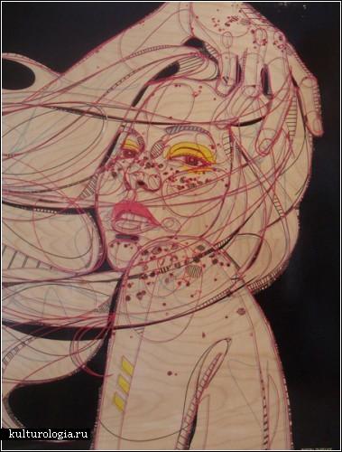 Незнакомки художника Jason Thielke