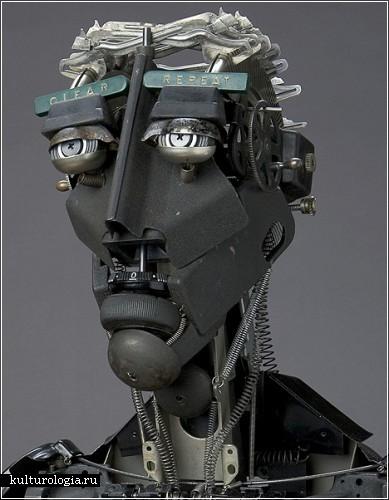 Скульптурные работы из старых пишущих машинок Джереми Майера (Jeremy Mayer)