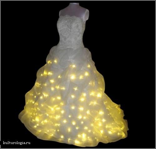 Самые необычные свадебные платья в мире.